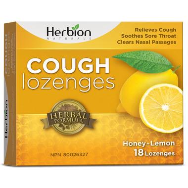Herbion Cough Lozenges Honey Lemon