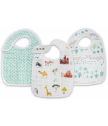 aden + anais Classic Snap Bibs Around the World