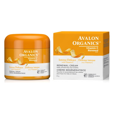 Avalon Organics Vitamin C Renewal Renewal Cream