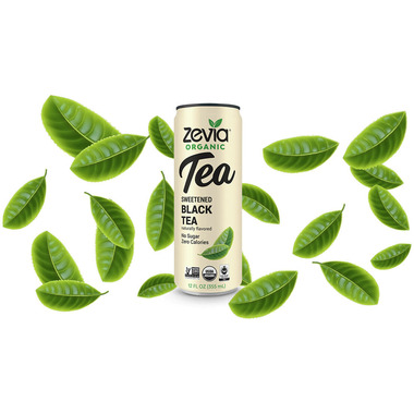 Zevia Organic Sweetened Black Tea