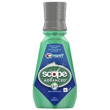 Crest Scope Advanced 6 in 1 Multi-Protection Mouthwash 500 mL