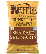 Kettle Krinkle Cut Sea Salt Potato Chips