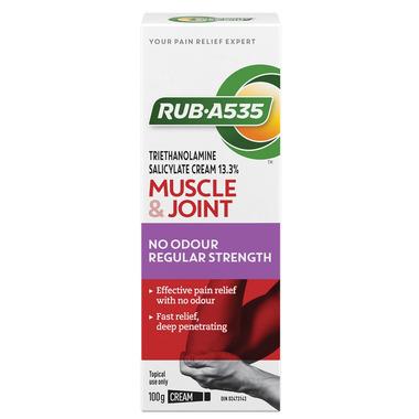 Rub A535 Regular Strength No Odour Cream
