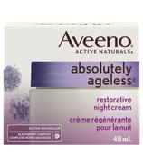 Crème de nuit réparatrice d'Aveeno Absolutely Ageless