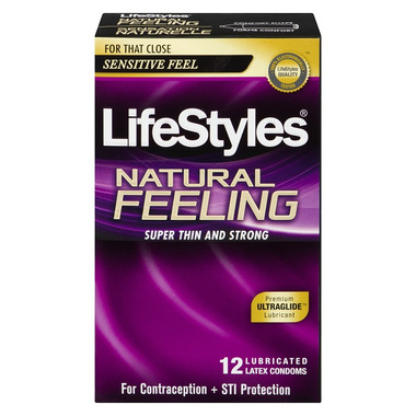 Lifestyles Natural Feeling Condoms