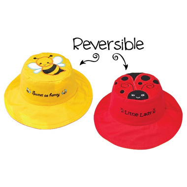 a5ec02e0 Buy Flapjack Kids Reversible Sun Hat Bee & Ladybug from Canada at Well.ca -  Free Shipping