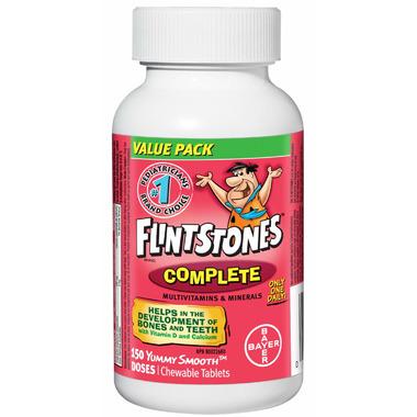 Flintstones Complete Multivitamin Chewables Value Pack