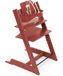 Stokke Tripp Trapp Chair & Baby Set Warm Red
