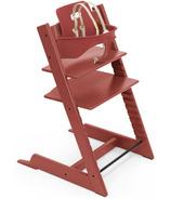 Chaise et ensemble pour bébé Tripp Trapp de Stokke, rouge chaleureux