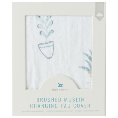 Little Unicorn Brushed Changing Pad Cover Prickle Pots