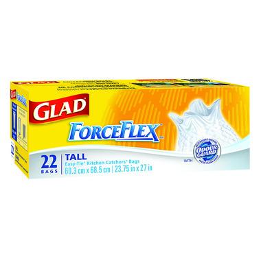 Glad ForceFlex Easy Tie Kitchen Catchers
