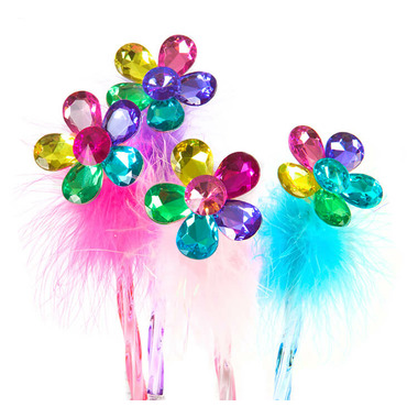 Great Pretenders Flower Gem Fluffy Pen