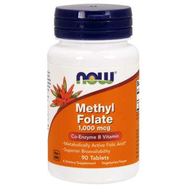 NOW Foods Methyl Folate 1000mcg