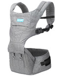 Moby 2-in-1 Carrier & Hipseat Grey