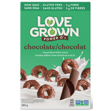 Love Grown Chocolate Power O\'s Cereals