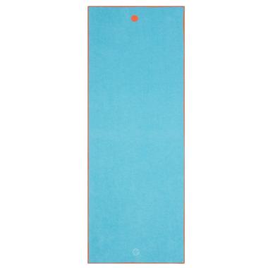 Manduka yogitoes Skidless Yoga Towel Chakra Turquoise