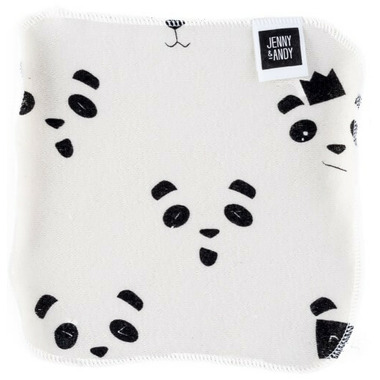 Jenny & Andy Organic Wash Cloths Panda