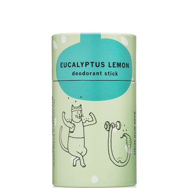 meow meow tweet Deodorant Stick Lemon Eucalyptus Mini