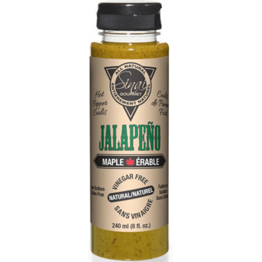 Sinai Gourmet Jalapeno Maple Hot Pepper Coulis