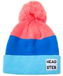 Headster Kids Tricolour Blue Tuque