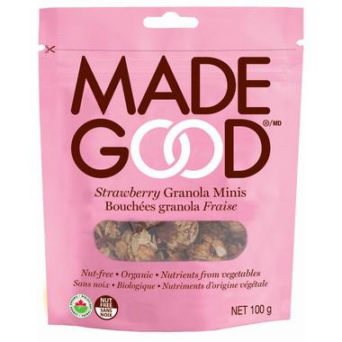 MadeGood Strawberry Organic Granola Minis Bag