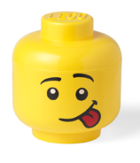 LEGO Large Storage Head Silly Boy