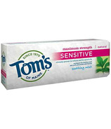 Tom's of Maine Maximum Strength Sensitive Fluoride Toothpaste