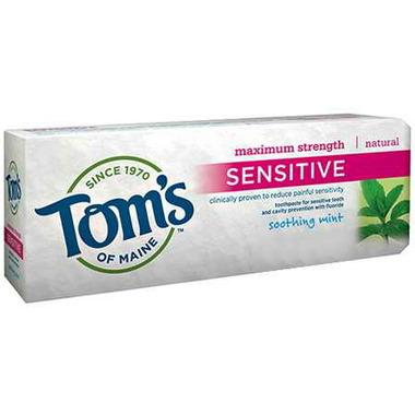Tom\'s of Maine Maximum Strength Sensitive Fluoride Toothpaste