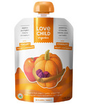 Love Child Organics Pouch Apples, Pumpkin, Raisins & Cinnamon