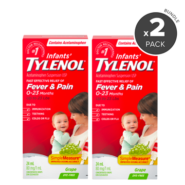 Tylenol Infants\' Acetaminophen Drops Value Bundle