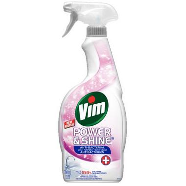 Vim Power & Shine Antibacterial Multi Purpose Spray