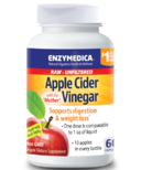 "Enzymedica Raw Apple Cider Vinegar ""with the Mother"""