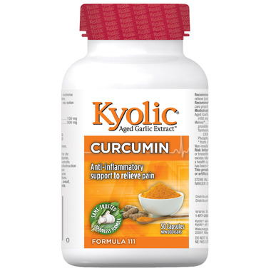 Kyolic Formula 111 Anti-Inflammatory with Curcumin