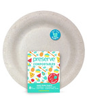 Preserve Compostables Large Plates Natural