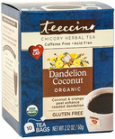 Teeccino Dandelion Coconut Roasted Herbal Tea