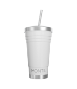 Montii Co Insulated Smoothie Cup White