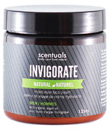 Scentuals Men's Invigorate Natural Moisturizing Face Cream