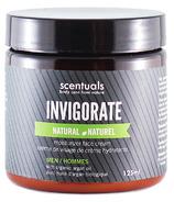Scentuals Men's Invigorate Natural Moisturizing Face Cream