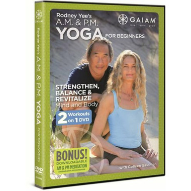 Rodney Yee\'s A.M. & P.M. Yoga for Beginners