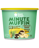 Snack Simple Banana Chocolate Minute Muffin