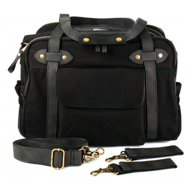 SoYoung Black Charlie Diaper Bag