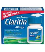 Claritin comprimés non somnolents 10mg