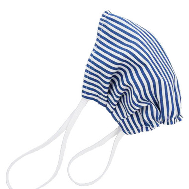 Puffin Gear Reusable Cloth Face Mask Blue Stripe