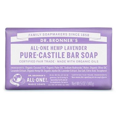 Dr. Bronner\'s Pure Castile Bar Soap Lavender