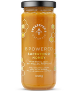 Naturals B. Powered Superfood Honey de Beekeeper