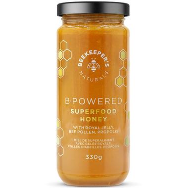 Beekeeper\'s Naturals B. Powered Superfood Honey
