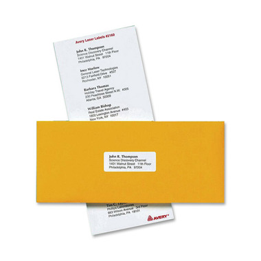 Avery Mini-Sheets Laser/Inkjet Mailing Labels