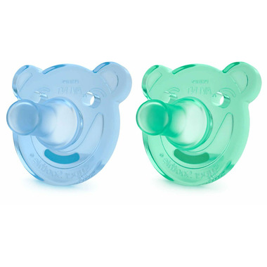 Philips Avent Shape Soothie Blue/Green