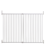 Dreambaby Broadway Xtra-Wide & Xtra-Tall Gro-Gate White