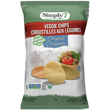 Simply 7 Organic Veggie Chips Original